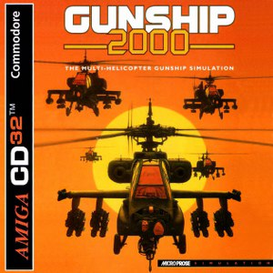 Buy Amiga CD32 Gunship 2000 For Sale at Console Passion