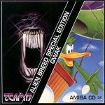 Amiga CD32 - Alien Breed SE and Qwak
