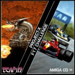 Amiga CD32 - Project X and F17 Challenge