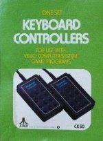 Atari 2600 - Atari 2600 Keyboard Controllers Boxed