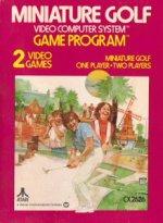 Atari 2600 - Minature Golf