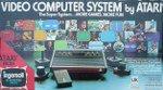 Atari 2600 - Atari VCS Woodgrain AV Modified Console Boxed