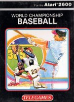 Atari 2600 - World Championship Baseball