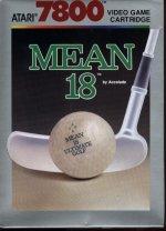 Atari 7800 - Mean 18