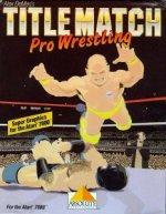 Atari 7800 - Title Match Pro Wrestling