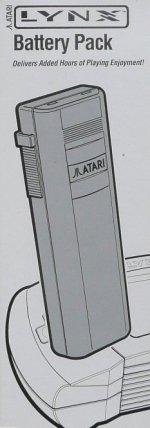 Atari Lynx - Atari Lynx Battery Pack Boxed