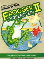 Colecovision - Frogger 2 - Threeedeep