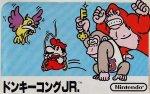 Famicom - Donkey Kong Jr