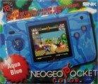 Neo Geo Pocket - Neo Geo Pocket Colour Aqua Blue Console Boxed