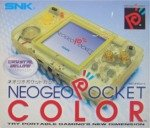Neo Geo Pocket - Neo Geo Pocket Colour Crystal Yellow Console Boxed