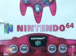 Nintendo 64 - Nintendo 64 Clear Red Console Boxed