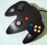 Nintendo 64 - Nintendo 64 Controller Black and Grey Loose