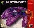 Nintendo 64 - Nintendo 64 Controller Purple Boxed