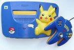 Nintendo 64 - Nintendo 64 Pikachu Console Loose