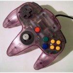 Nintendo 64 - Nintendo 64 Controller Purple Loose