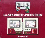 Nintendo Game and Watch - Mario Bros MW56 Boxed