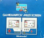 Nintendo Game and Watch - Rainshower LP57 Boxed