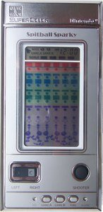 Nintendo Game and Watch - Spitball Sparky BU201 Loose