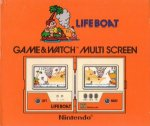 Nintendo Game and Watch - Lifeboat TC58 Boxed