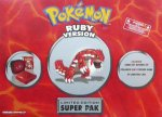 Nintendo Gameboy Advance - Nintendo Gameboy Advance SP Pokemon Ruby Console Boxed
