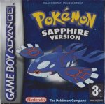 Nintendo Gameboy Advance - Pokemon Sapphire