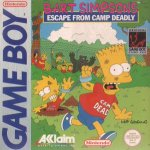Nintendo Gameboy - Bart Simpsons Escape from Camp Deadly
