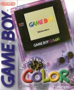 Nintendo Gameboy Colour - Nintendo Gameboy Colour Console Clear Purple Boxed