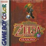 Nintendo Gameboy Colour - Legend of Zelda - Oracle of Seasons