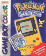 Nintendo Gameboy Colour - Nintendo Gameboy Colour Pokemon Crystal Limited Edition Console Boxed