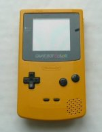 Nintendo Gameboy Colour - Nintendo Gameboy Colour Console Yellow Loose