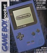 Nintendo Gameboy - Nintendo Gameboy Pocket Blue Console Boxed