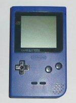 Nintendo Gameboy - Nintendo Gameboy Pocket Blue Loose