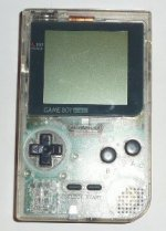 Nintendo Gameboy - Nintendo Gameboy Pocket Console Clear Loose