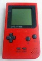 Nintendo Gameboy Pocket Red Loose