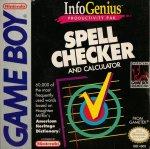 Nintendo Gameboy - Spell Checker