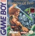 Nintendo Gameboy - Wizards and Warriors - Fortress of Fear