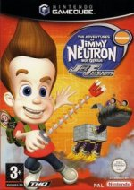 Nintendo Gamecube - Adventures of Jimmy Neutron Boy Genius - Jet Fusion