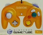 Nintendo Gamecube - Nintendo Gamecube Japanese Controller Orange Boxed