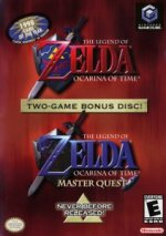 Nintendo Gamecube - Legend of Zelda - Ocarina of Time Master Quest