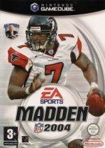 Nintendo Gamecube - Madden NFL 2004