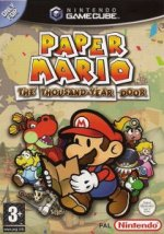 Nintendo Gamecube - Paper Mario - The Thousand-Year Door