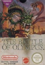 Nintendo NES - Battle of Olympus