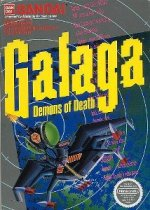 Nintendo NES - Galaga - Demons of Death