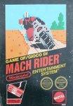 Nintendo NES - Mach Rider
