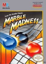 Nintendo NES - Marble Madness