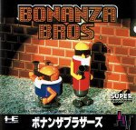 PC Engine CD - Bonanza Bros