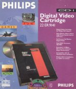 Philips CDI - Philips CDI 22ER9141 Digital Video Cartridge Boxed