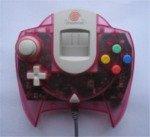 Sega Dreamcast - Sega Dreamcast Clear Pink Official Controller Loose