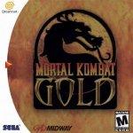 Sega Dreamcast - Mortal Kombat Gold