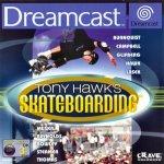 Sega Dreamcast - Tony Hawks Skateboarding